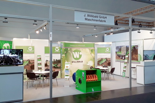Willibald Stand Agritechnica 2017